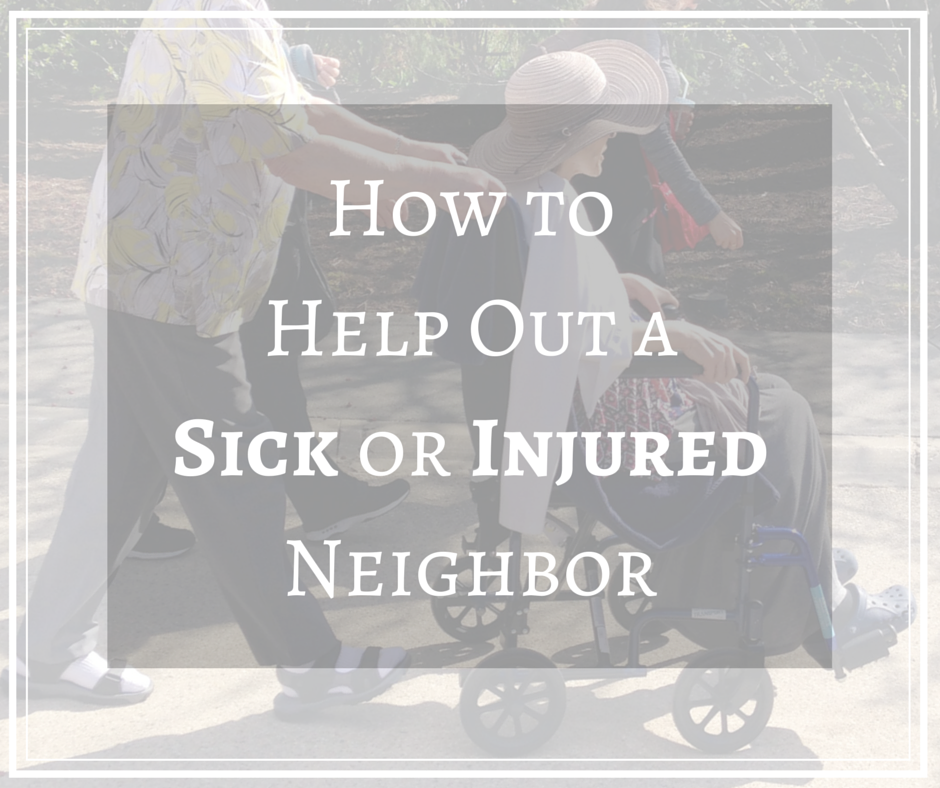 How to Help Out a Sick or Injured (1)
