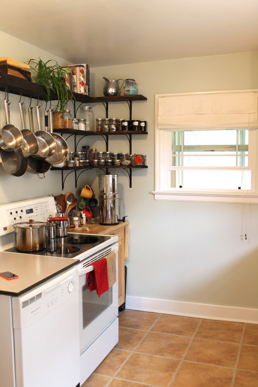 The Virtues Of A Tiny Vintage Not Open Concept Kitchen Motherhood And More
