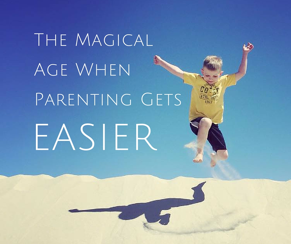 The Magical AgeWhen ParentingGets Easier
