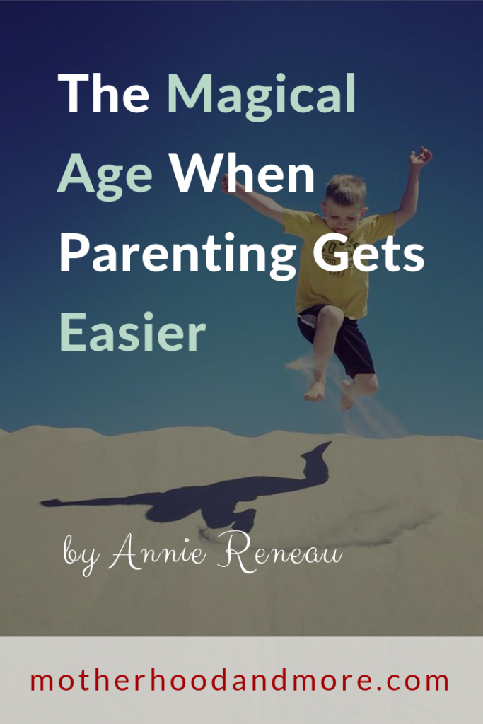 The Magical Age When Parenting Gets Easier