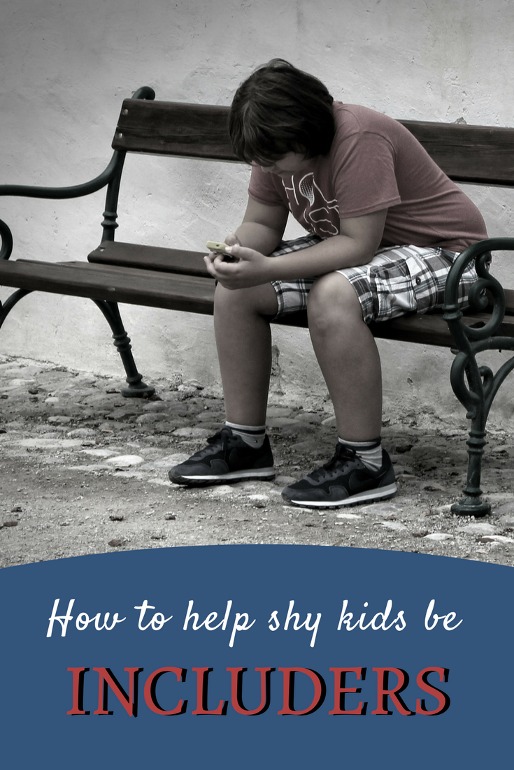 How to Help Shy Kids be Includers